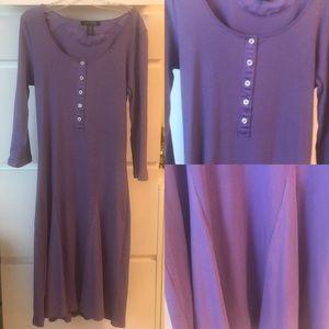 💎Light purple Ralph Lauren long sleeve dress
